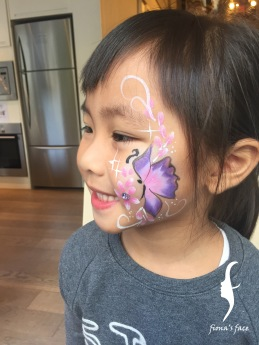 Many kids having their first face painting & loved very much!