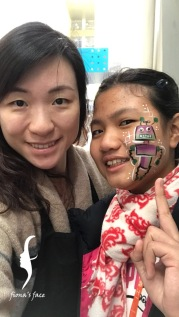 Thanks HK Federation of Youth Groups inviting to paint in HK FLL Robotic Tournament @ HKDI since 2015